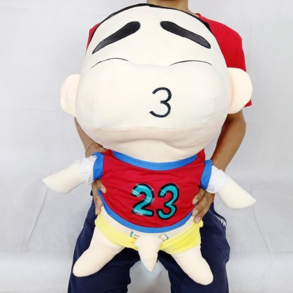 BASKETBALL SHINCHAN (Stretch Cotton)SOFTTOYS/PLUSHTOYS/KIDSTOYS 50CM 篮球衣蜡笔小新娃娃玩具公仔50厘米
