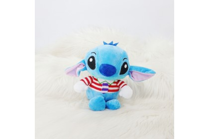 {M'SIA STOCK} Disney Stitch Necktie SOFT TOYS/PLUSH TOYS/KIDS TOYS/DOLL 7INCH 21CM 史迪仔领带娃娃玩具公仔 7寸 Anak Patung