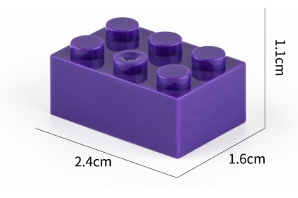 {M'SIA STOCK} Basic Block Building Blocks 2x3 - Compatible Block 积木2x3高砖积木散件