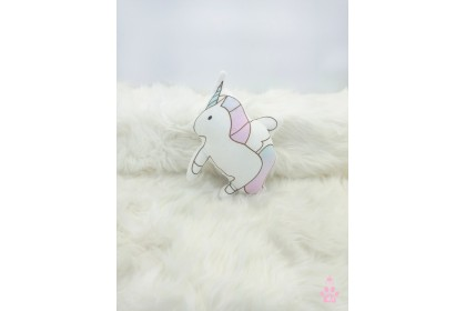 3D Unicorn SoftToys/PlushToys/KidsToys7inch 21cm 立体独角兽娃娃玩具公仔 7寸
