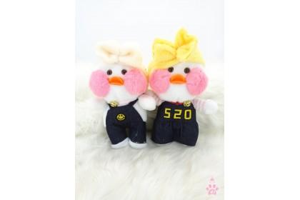 520 Yellow Duck SoftToys/PlushToys/KidsToys 7inch 21cm 我爱你玻尿酸黄鸭娃娃玩具公仔 7寸