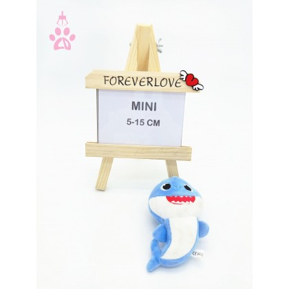 Baby Shark MiniSoftToys/PlushToys/KidsToys/Key Chain 5-15cm  鲨鱼一家宝宝迷你娃娃玩具公仔钥匙圈5厘米-15厘米