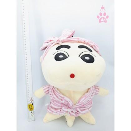 Bathrobe ShinChan (Stretch Cotton) SoftToys/PlushToys/KidsToys 25-35cm  浴袍太空棉蜡笔小新25厘米-35厘米